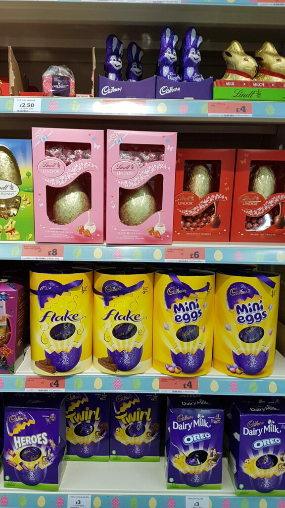 pets easter chocolate warning blog - easter eggs image